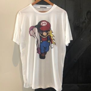 MARIO claims Princess shirt NWOT
